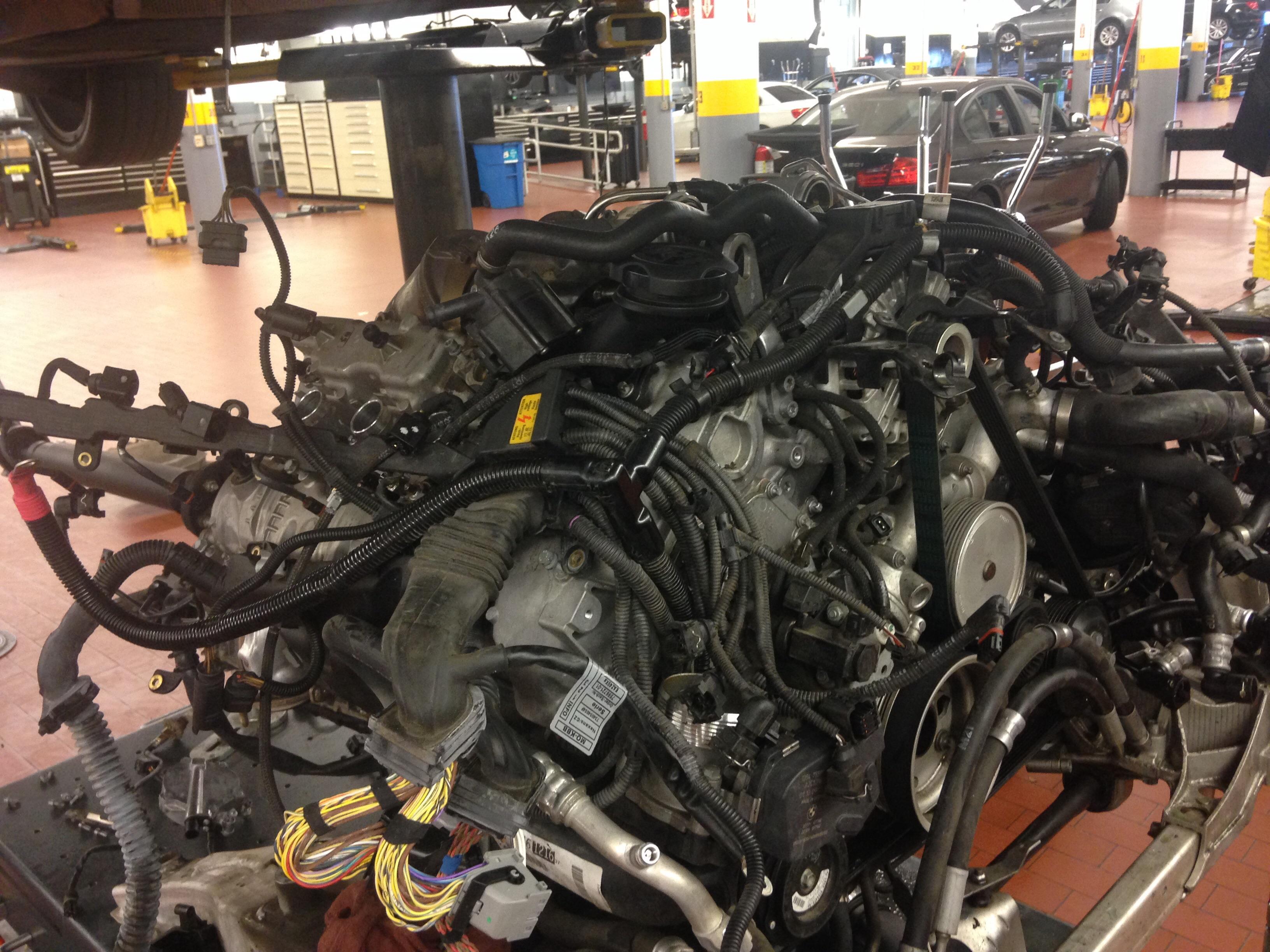 Bmw N63 Twin Turbo V8