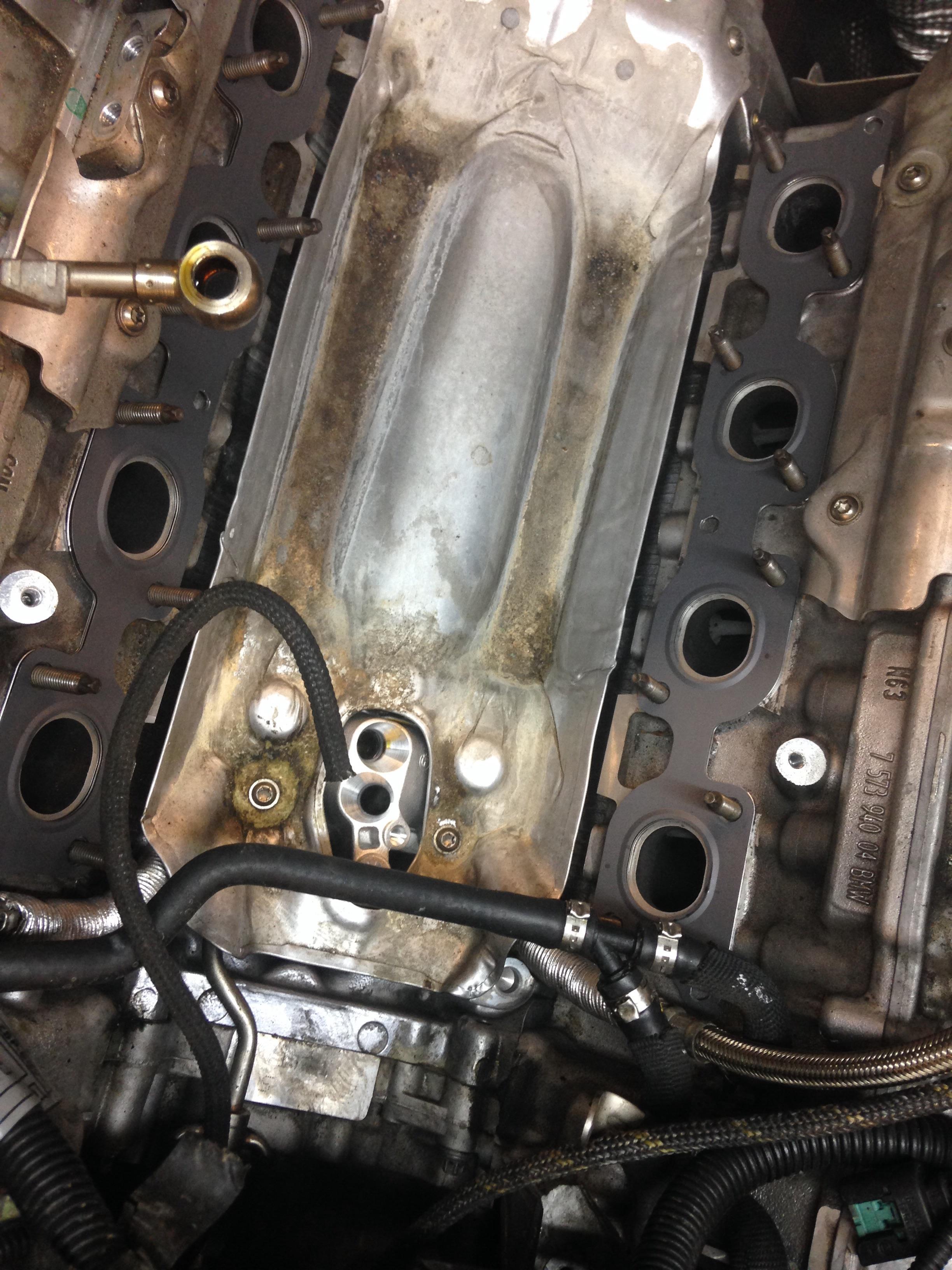 N63 Oil Leak Bmwtechnician