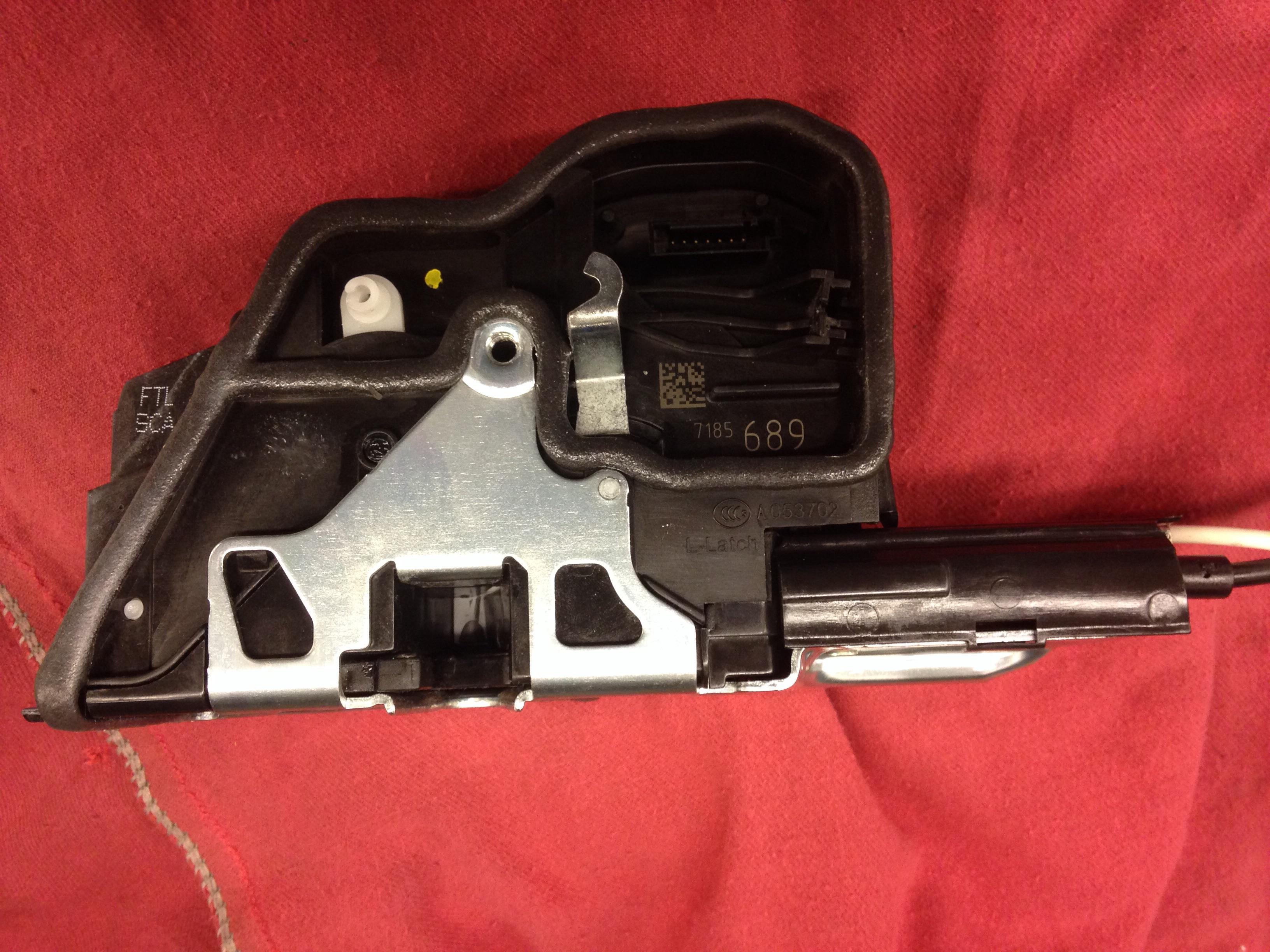 F10 comfort access door lock actuator | bmwtechnician