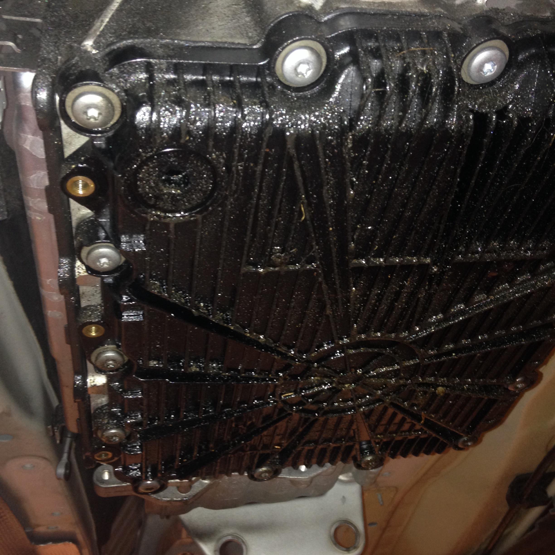 DCT trans leak | bmwtechnician