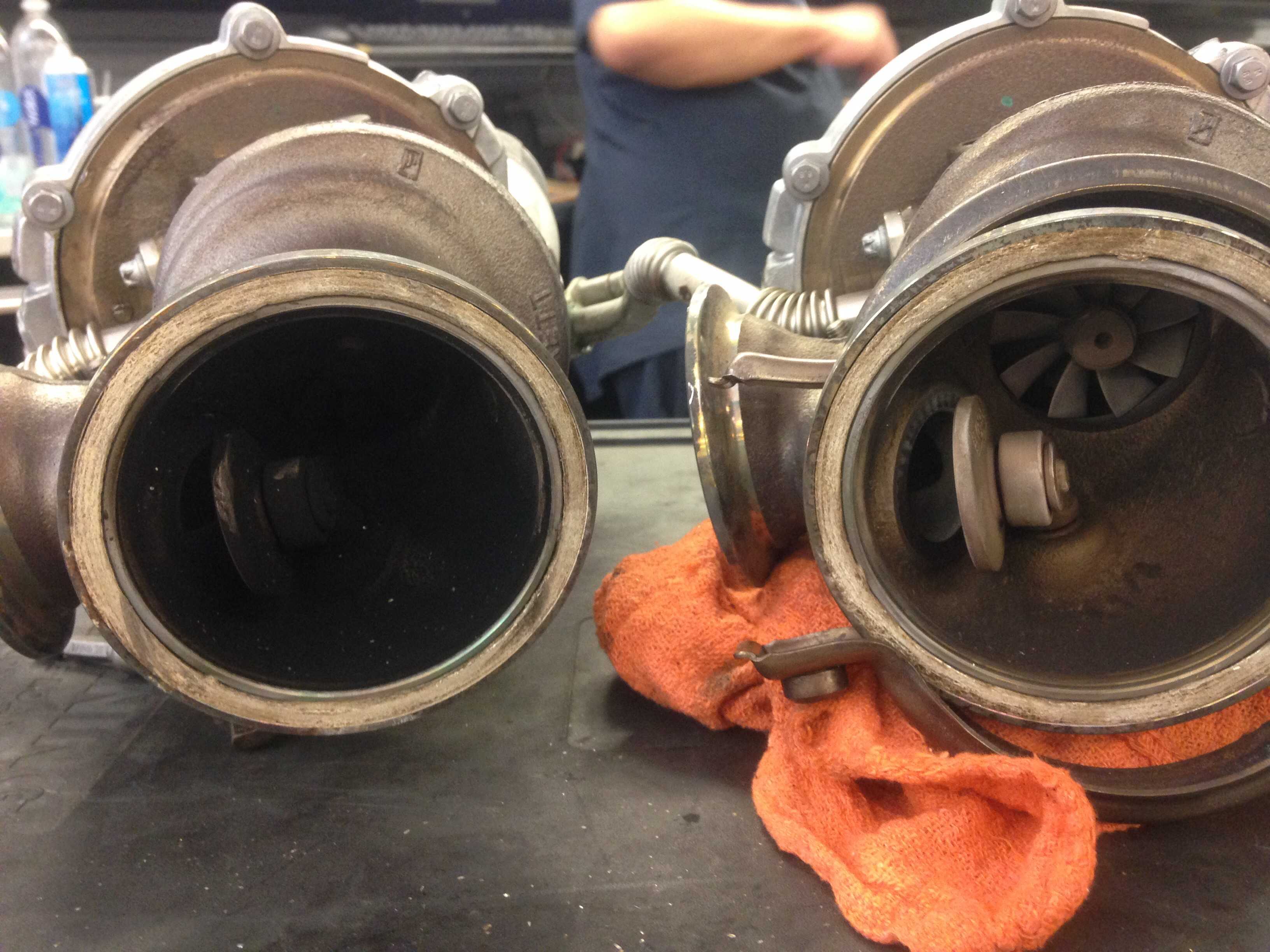 Signs Of A Bad Catalytic Converter >> N63 oil burning signs | bmwtechnician