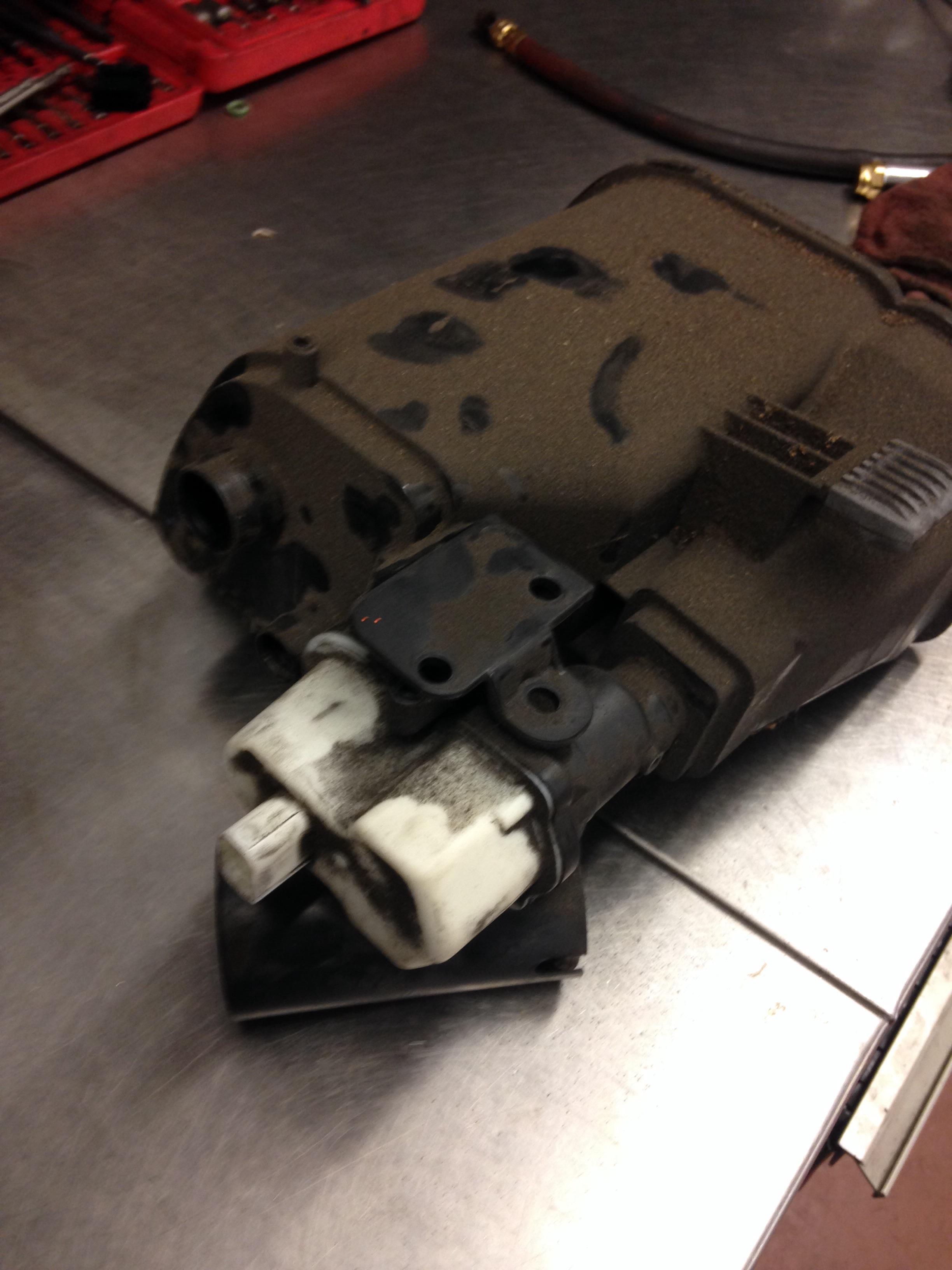 F10 DMTL pump and dust filter   bmwtechnician