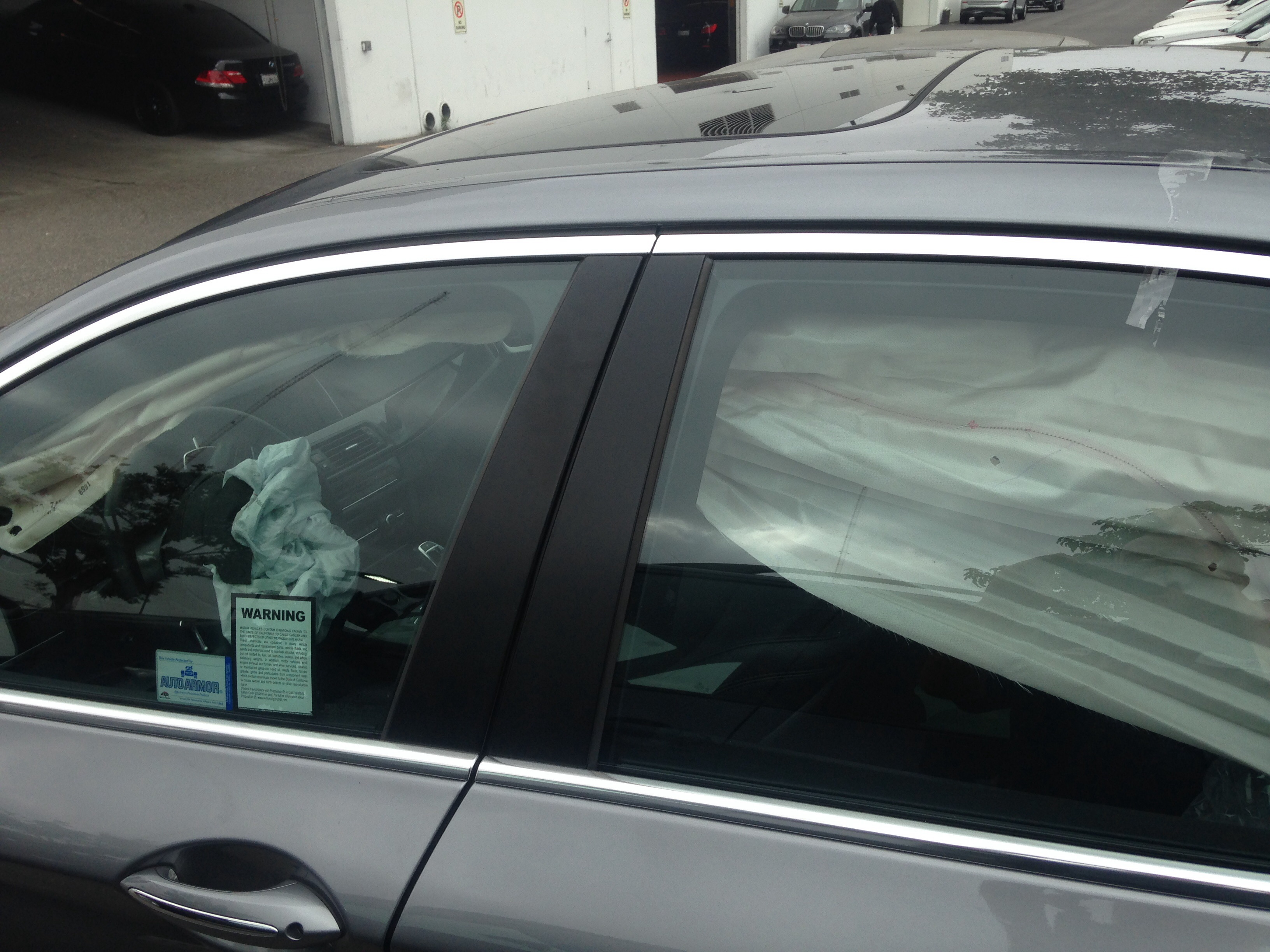 Uncategorized pictures of car accidents bad car - Now For The Good Stuff Notice The Driver Airbag And Side Head Airbag Were Deployed That S Bmw Safety For You This Is One Of The Reasons To Drive A