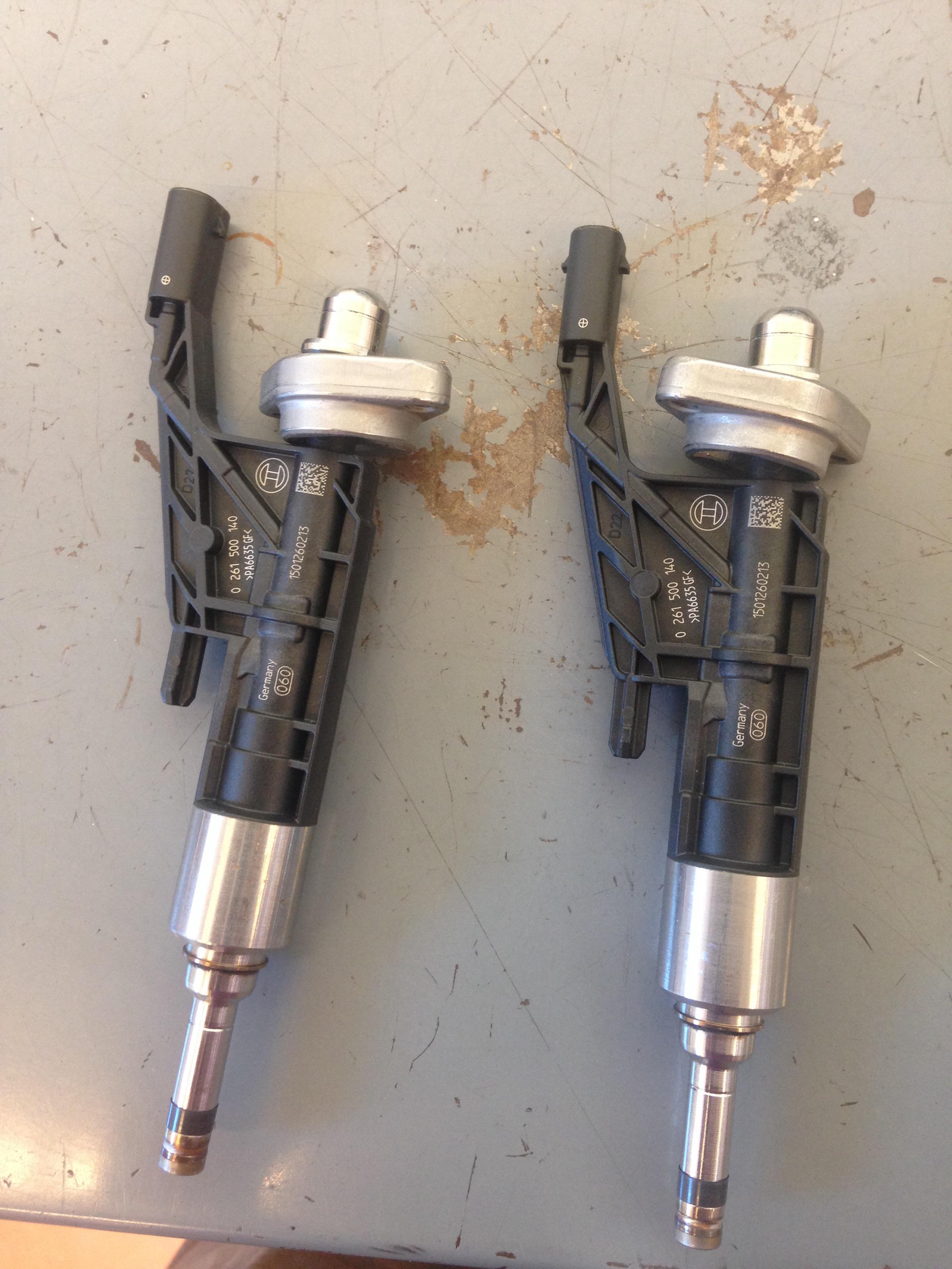 B48 new fuel injectors | bmwtechnician