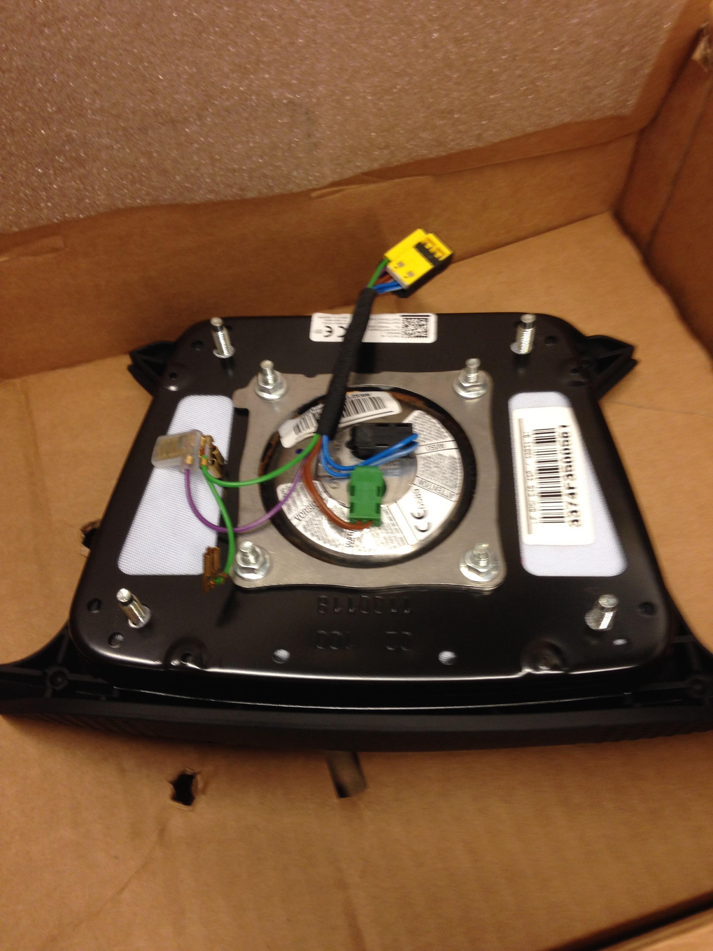 E46 Drivers Airbag Recall