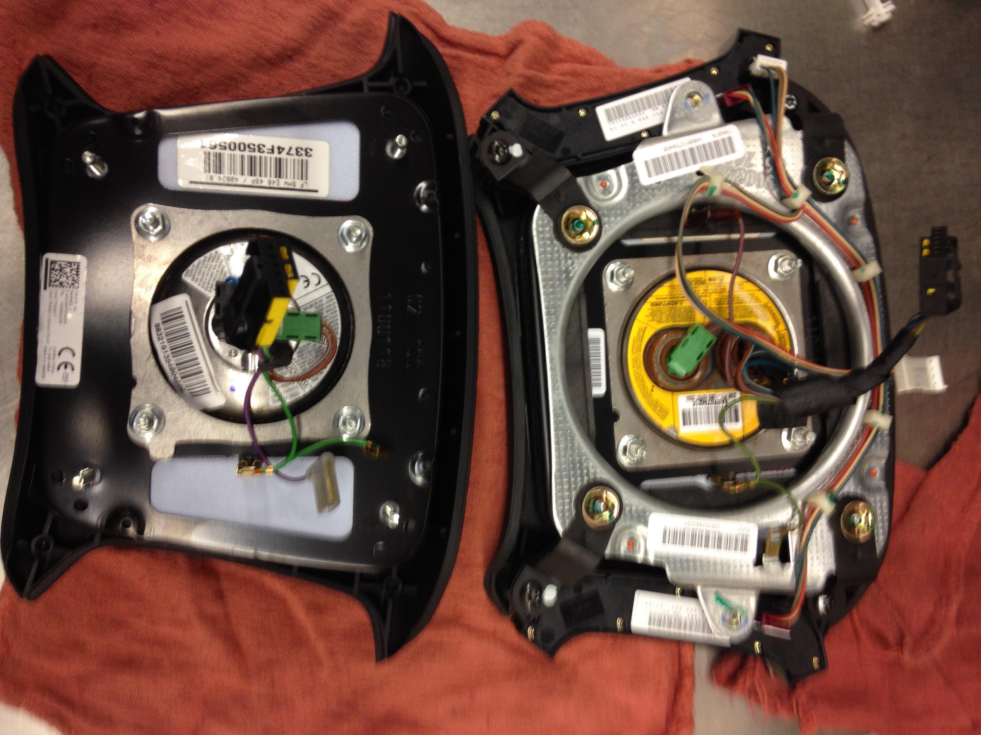 e46 drivers airbag recall bmwtechnician. Black Bedroom Furniture Sets. Home Design Ideas