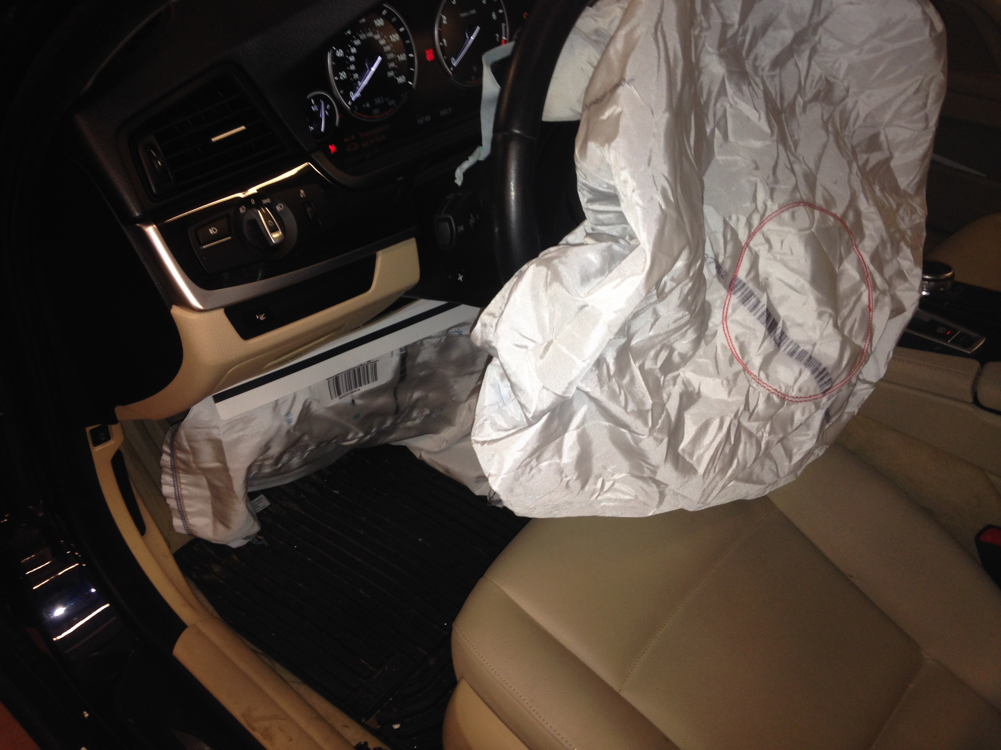 F10 Airbag Deployed Bmwtechnician