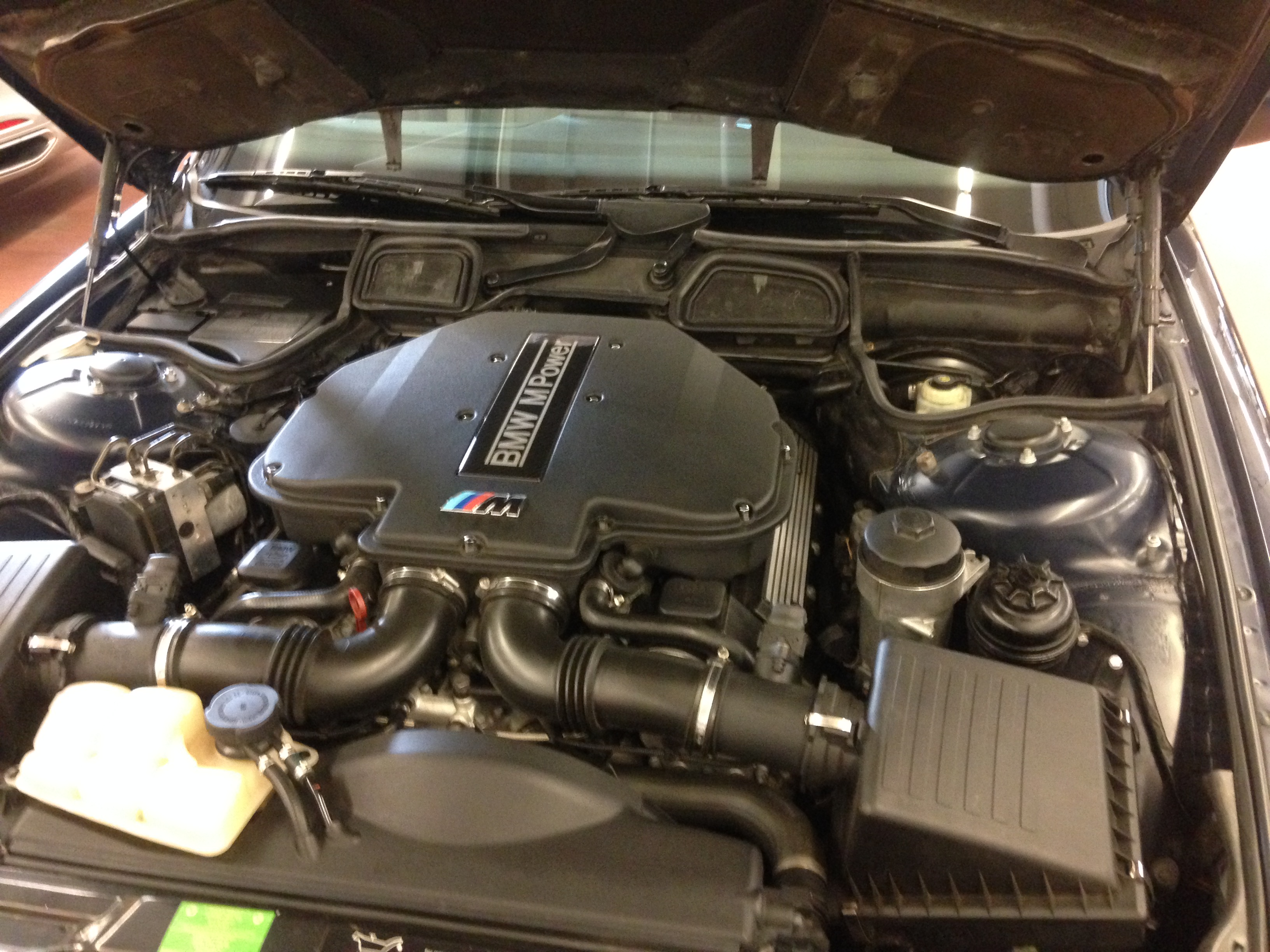E38 with S62 engine   bmwtechnician
