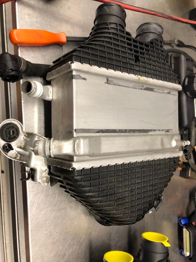S55 intercooler leaking | bmwtechnician
